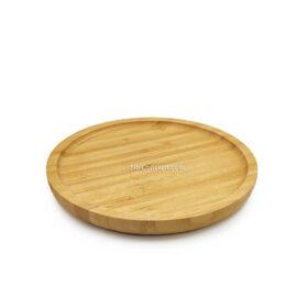 Cho thuê dĩa gỗ tròn bằng tre chụp ảnh